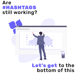 are hashtags working?