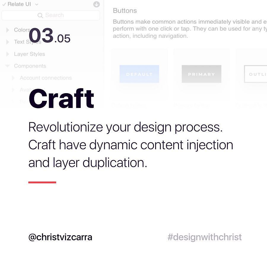 Craft. Revolutionize your design process. Craft have dynamic content injection and layer duplication.