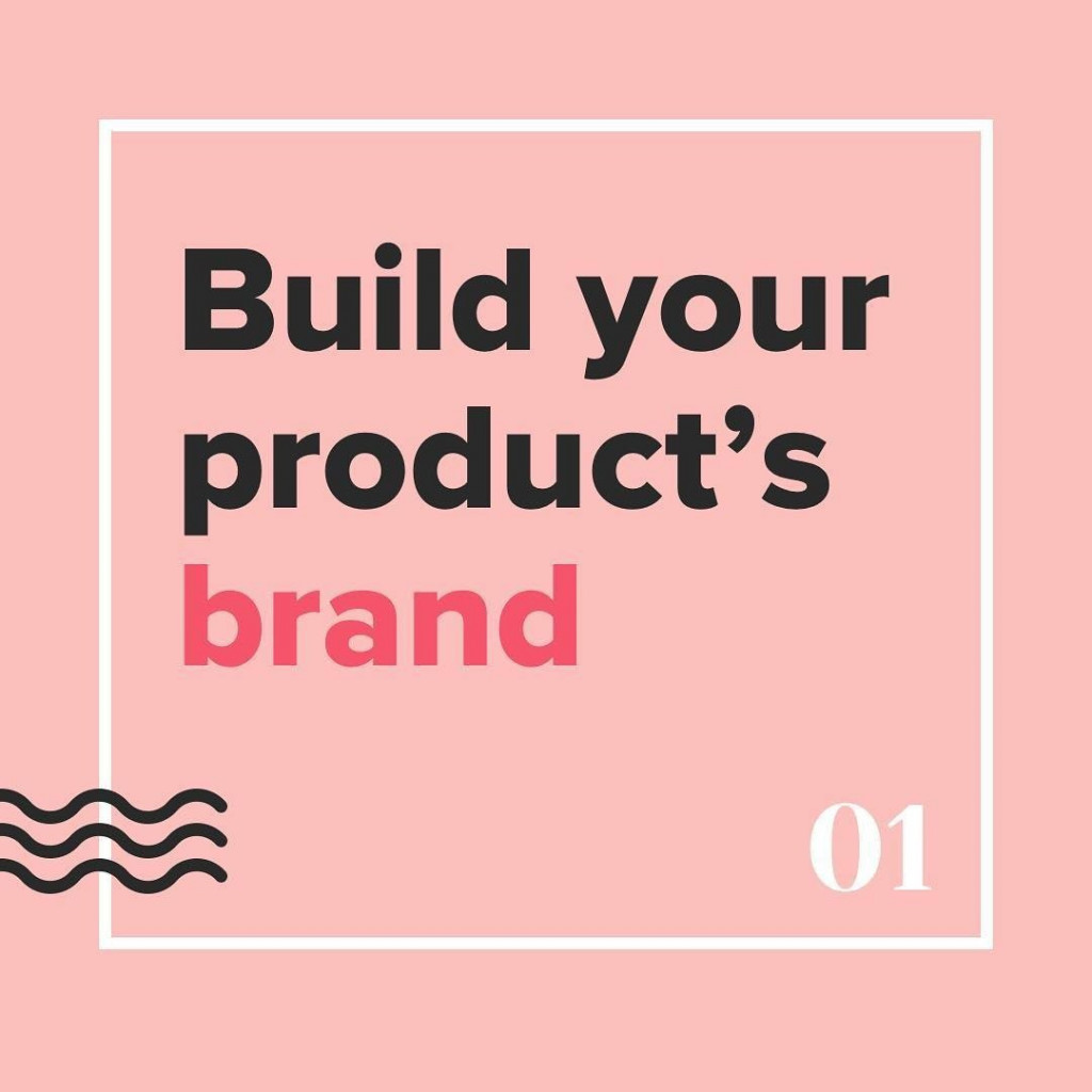 Build your product's brand