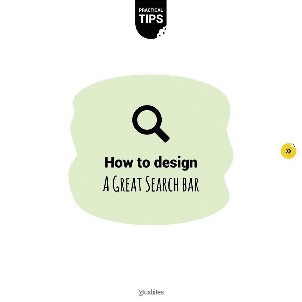 How to design a great search bar