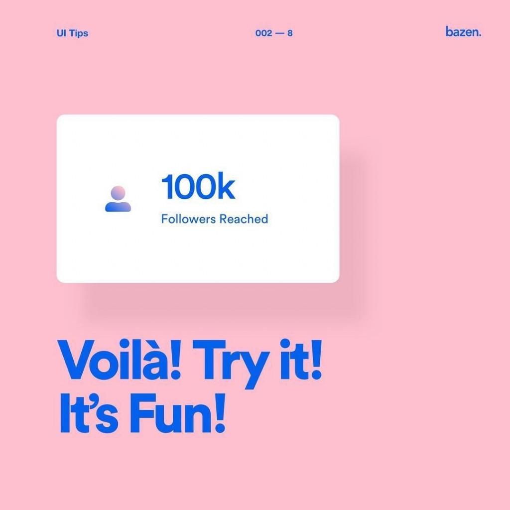 Voila! Try it! It's Fun!