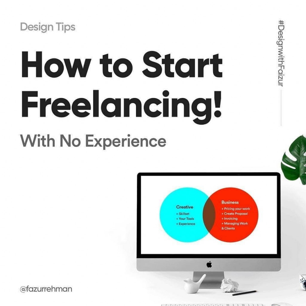 How to start Freelancing with no experience?