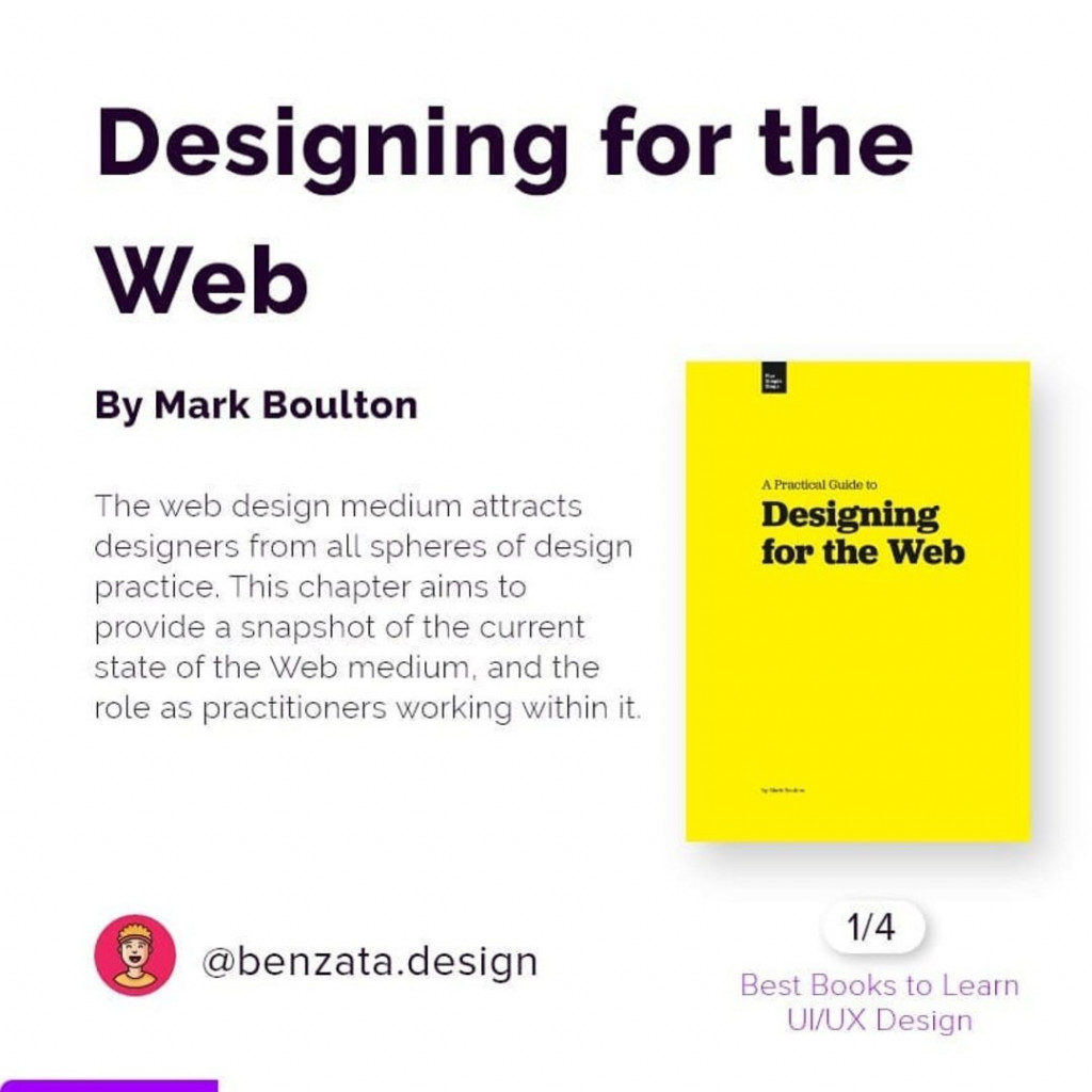 Designing for the Web by Mark Boulton. The web design medium attracts designers from all spheres of design practice. This chapter aims to provide a snapshot of the current state of the Web medium, and the role as practitioners working within it.