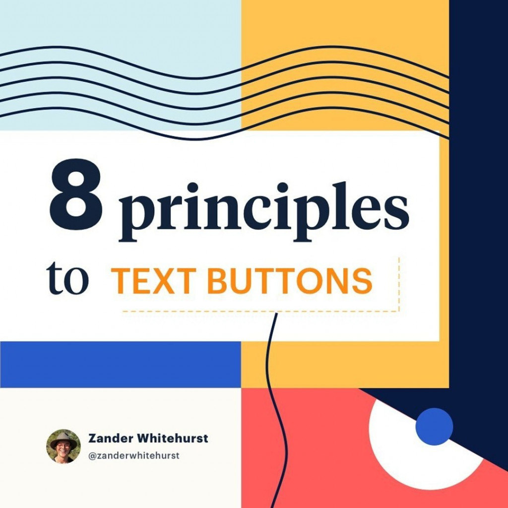 8 principles to text buttons