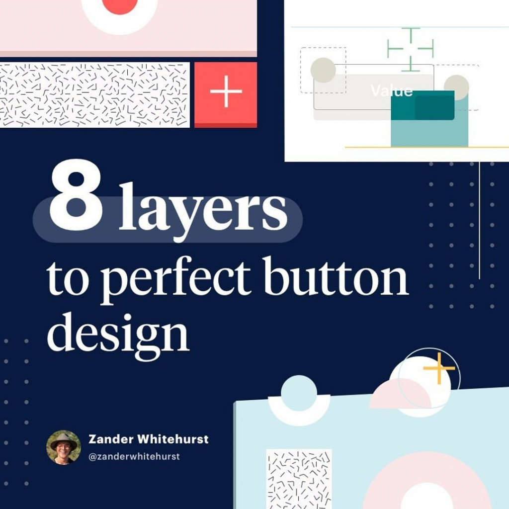 8 layers to perfect button design