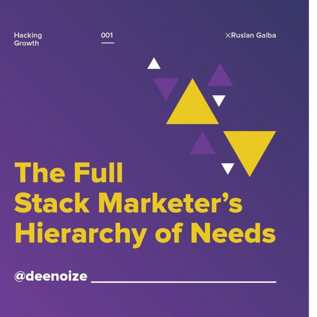 The Full Stack Marketer's Hierarchy of Needs