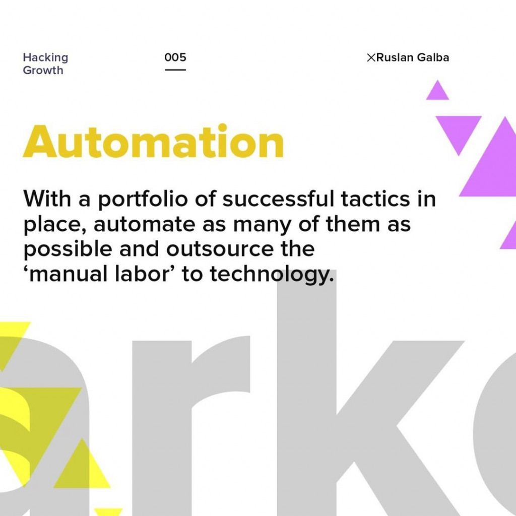 Automation.  With a portfolio of successful tactics in place, automate as many of them as possible and outsource the 'manual labor' to technology.