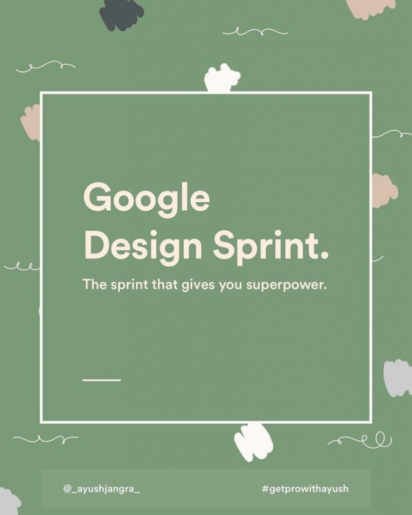Google Design Sprint. The sprint that gives you superpower.