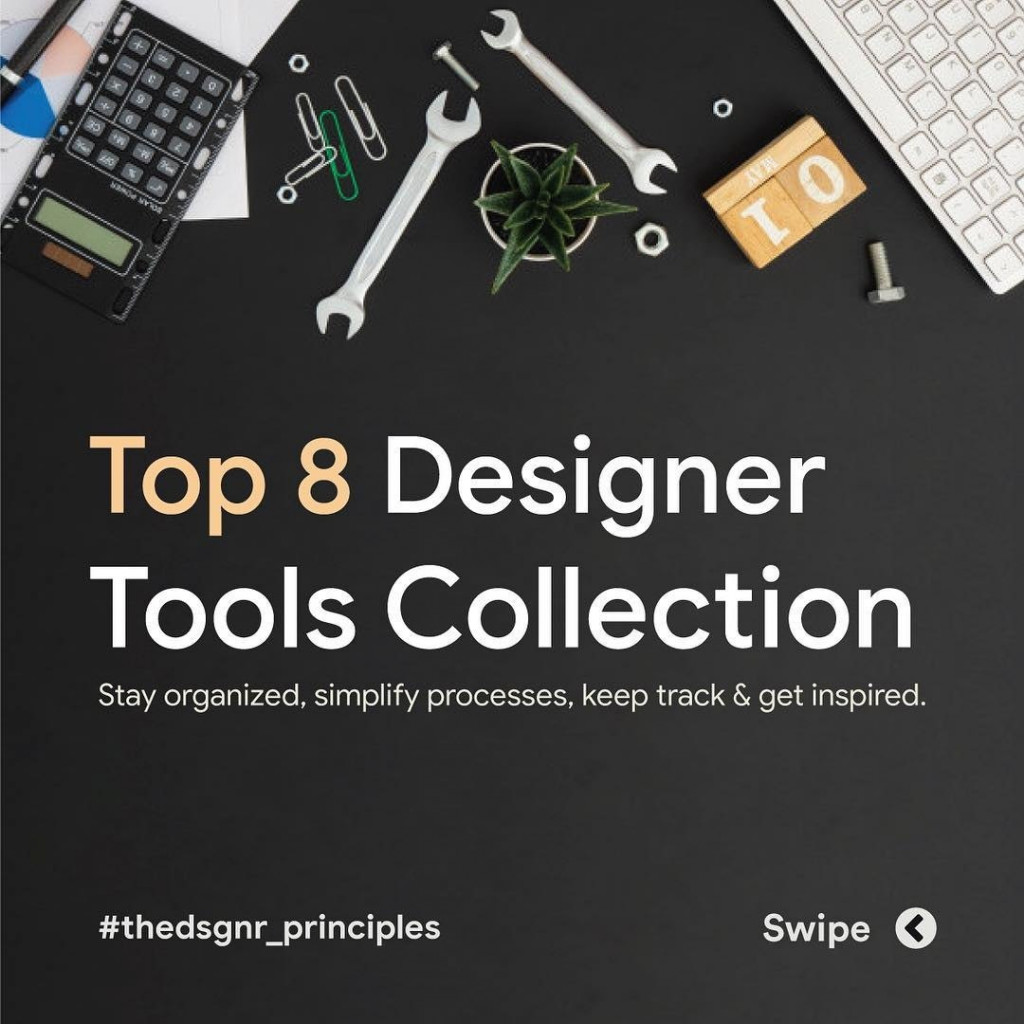 Top 8 Designer Tools Collection