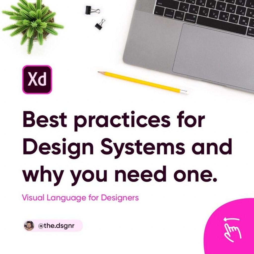 Best practices for Design Systems and why you need one. Visual Language for Designers.