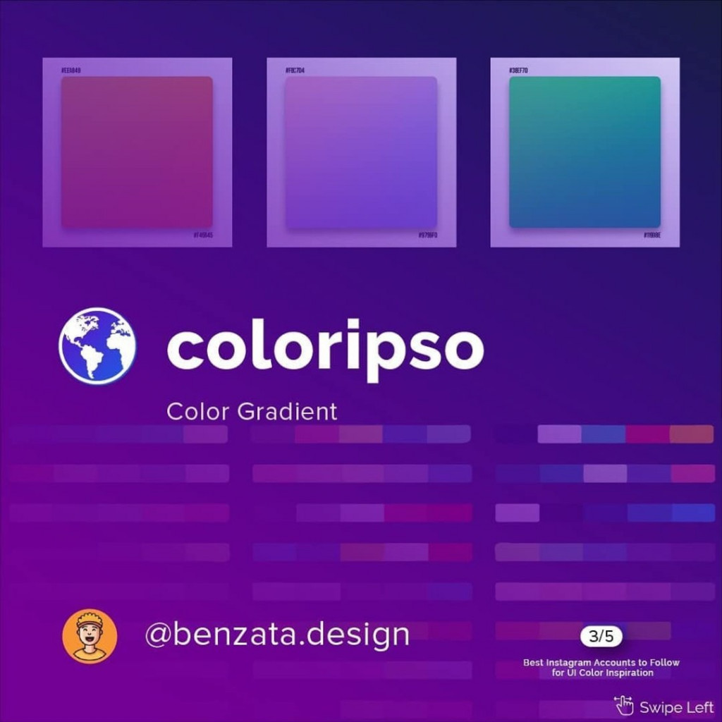 @coloripso  Color Gradient