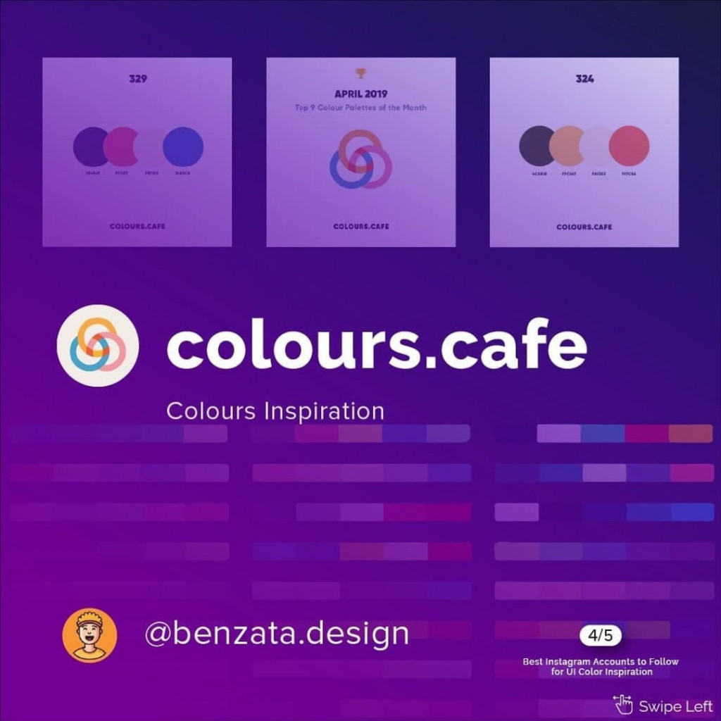 @colours.cafe  Colours Insiration