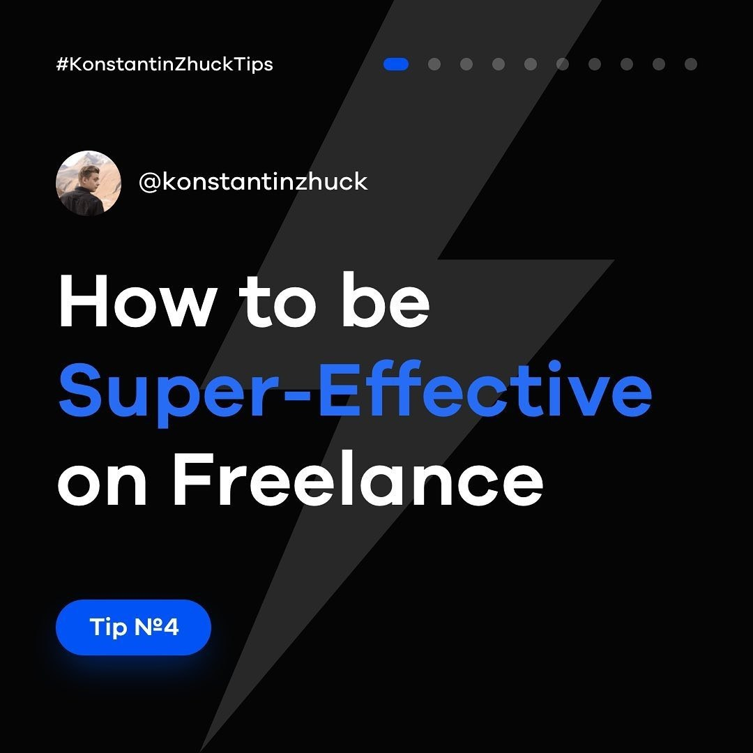 How to be Super-Effective on Freelance