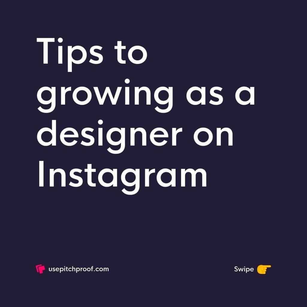 Tips to growing as a designer on Instagram