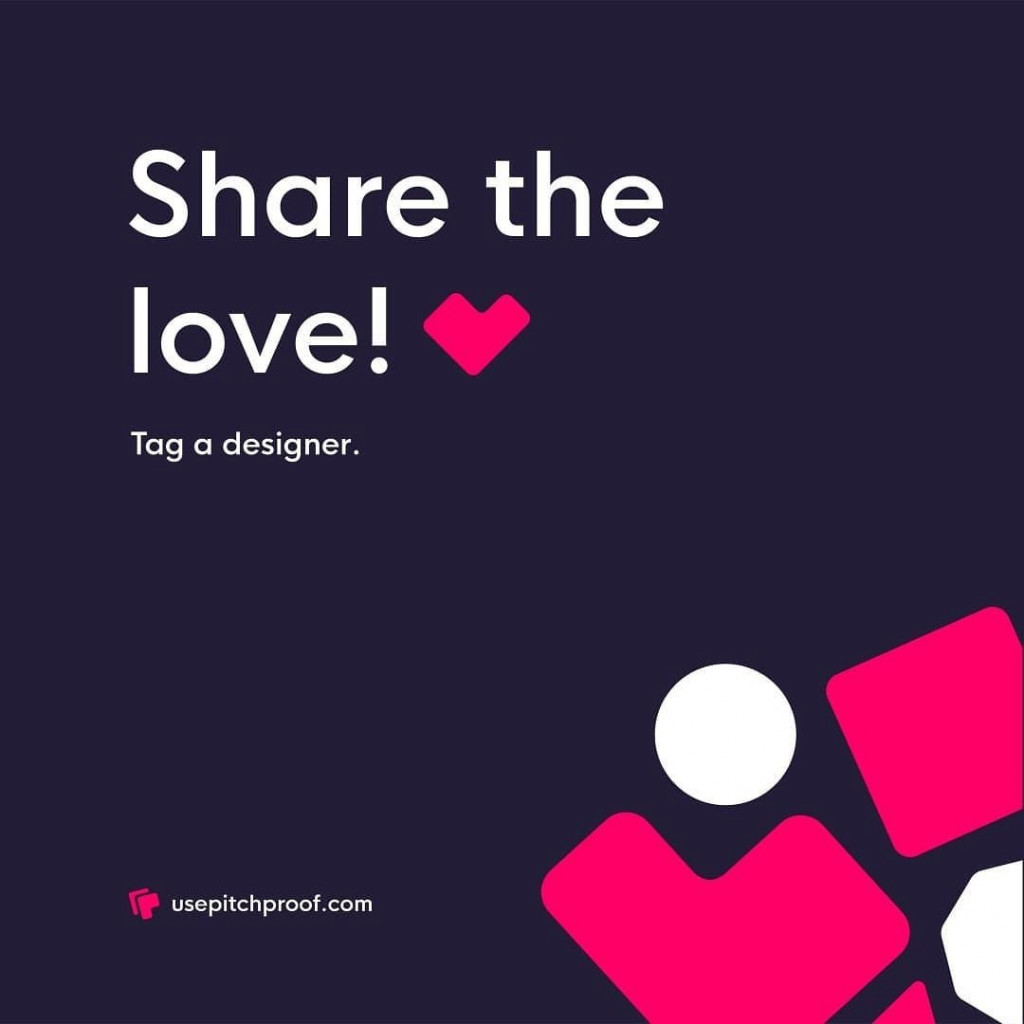 Share the love! Tag a designer.