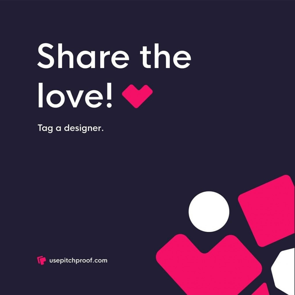 Share the love!  Tag a designer
