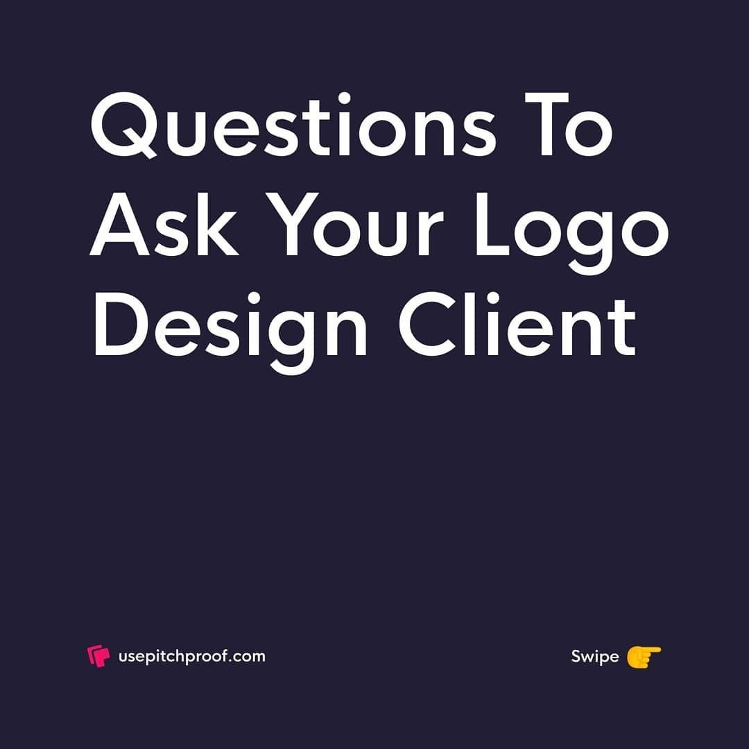 Questions to Ask Your Logo Design Client