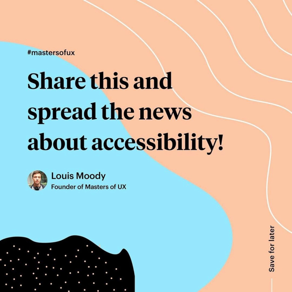 Share this and spread the news about accessibility!