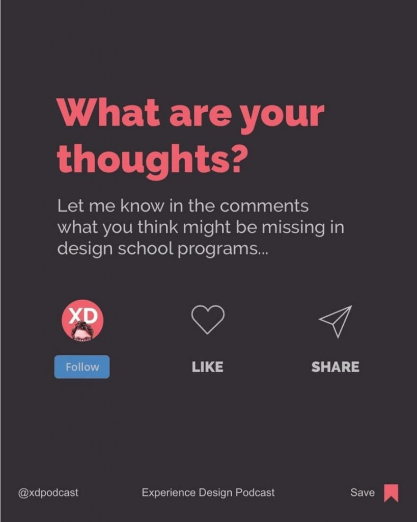 What are your thoughts?  Let me know in the comments what you think might be missing in design school programs...