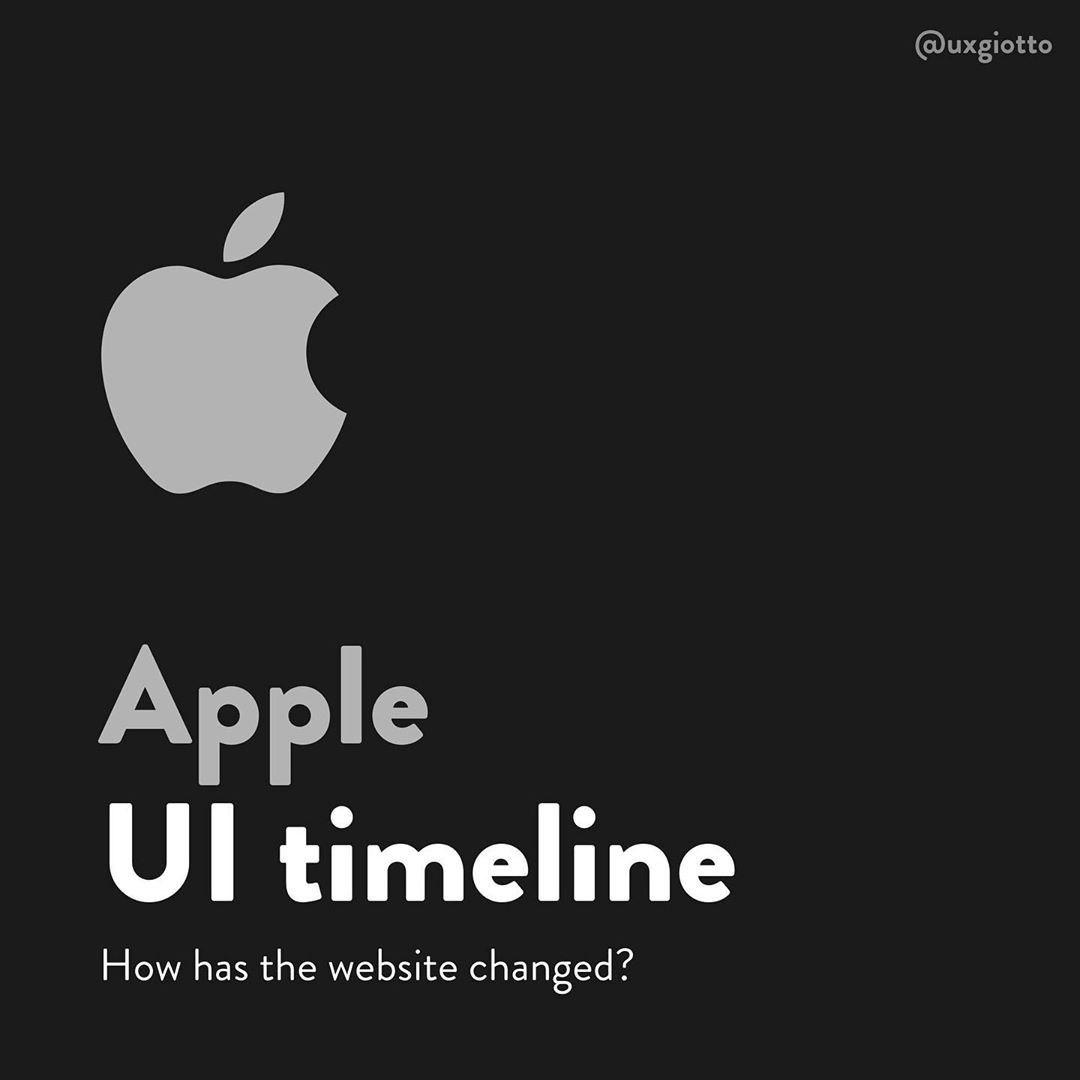 Apple UI Timeline