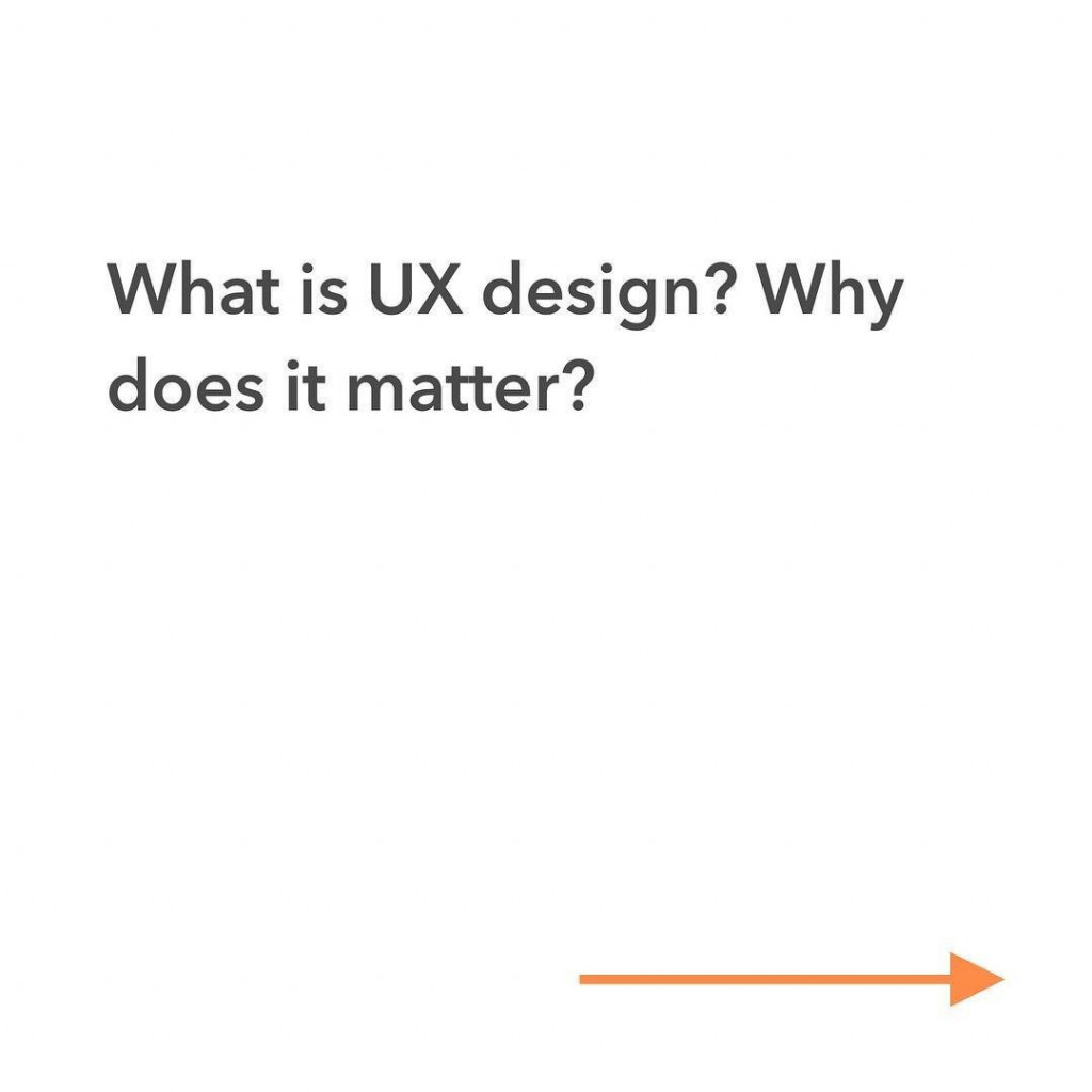 What is UX design? Why does it matter?
