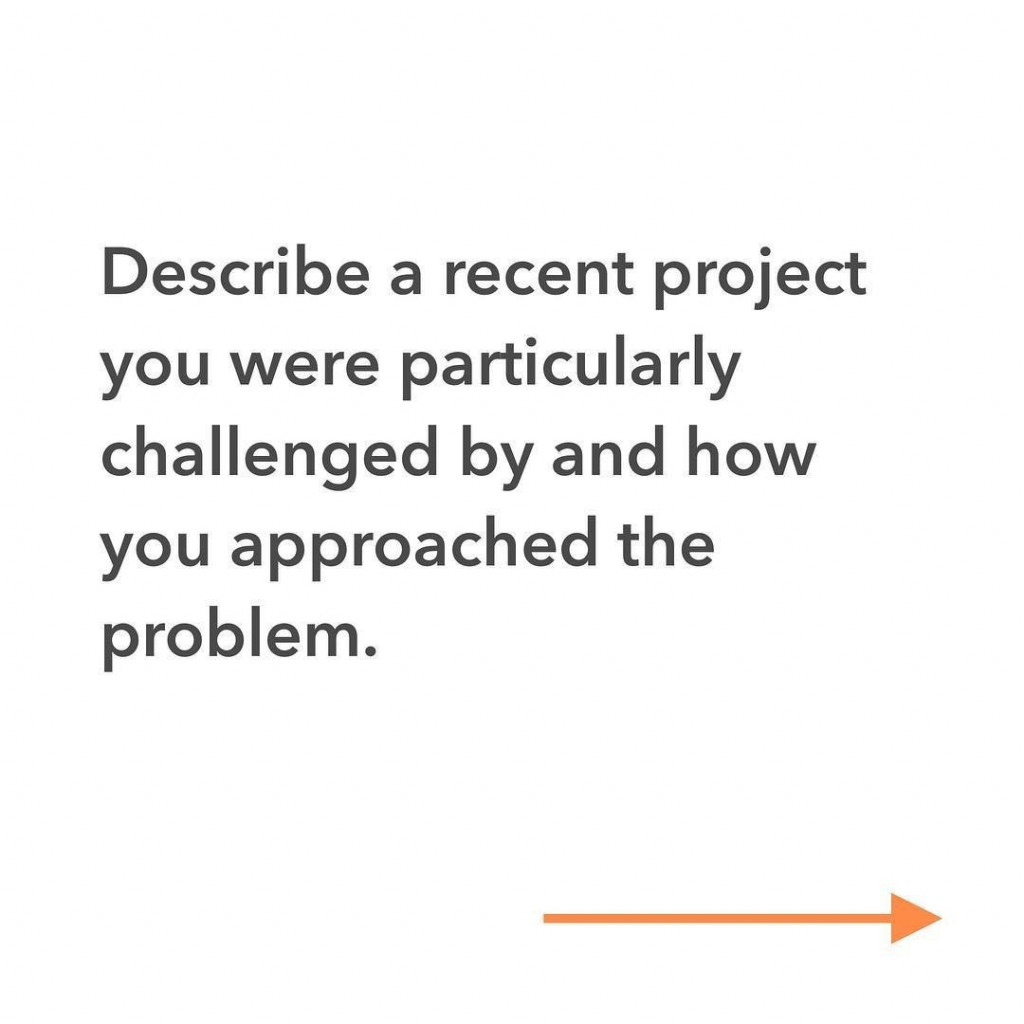 Describe a recent project you were particularly challenged by and how you approached the problem.