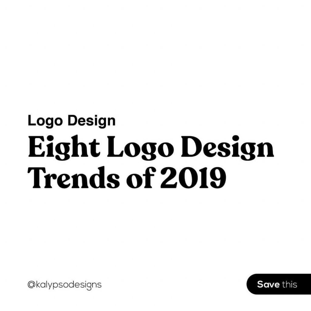 Logo Design  Eight Logo Design Trends of 2019