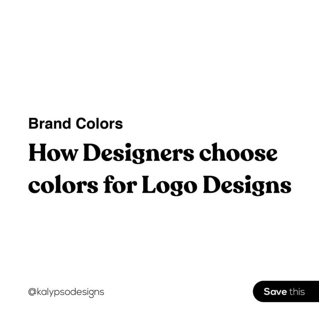 How Designers choose colors for Logo Designs
