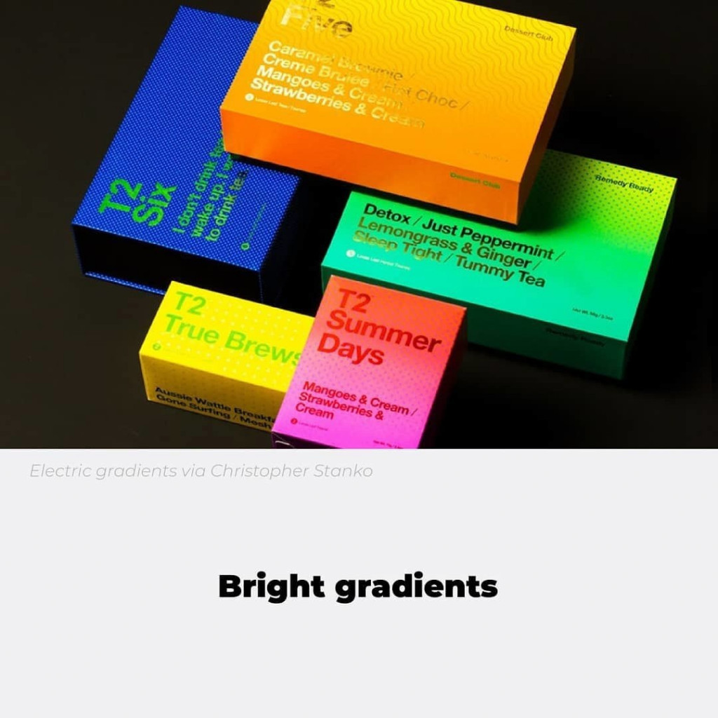 Bright gradients