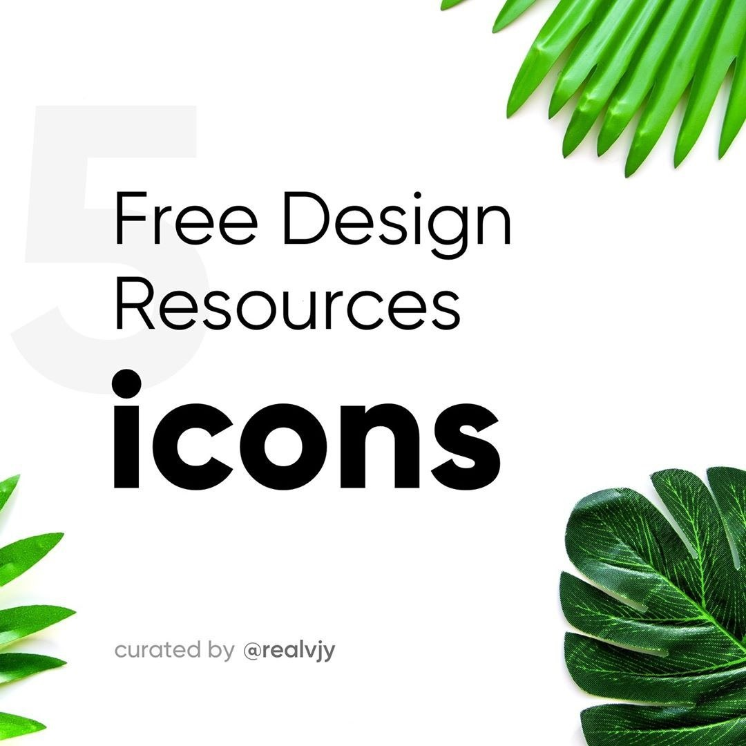 5 Free Design Resources-Icons