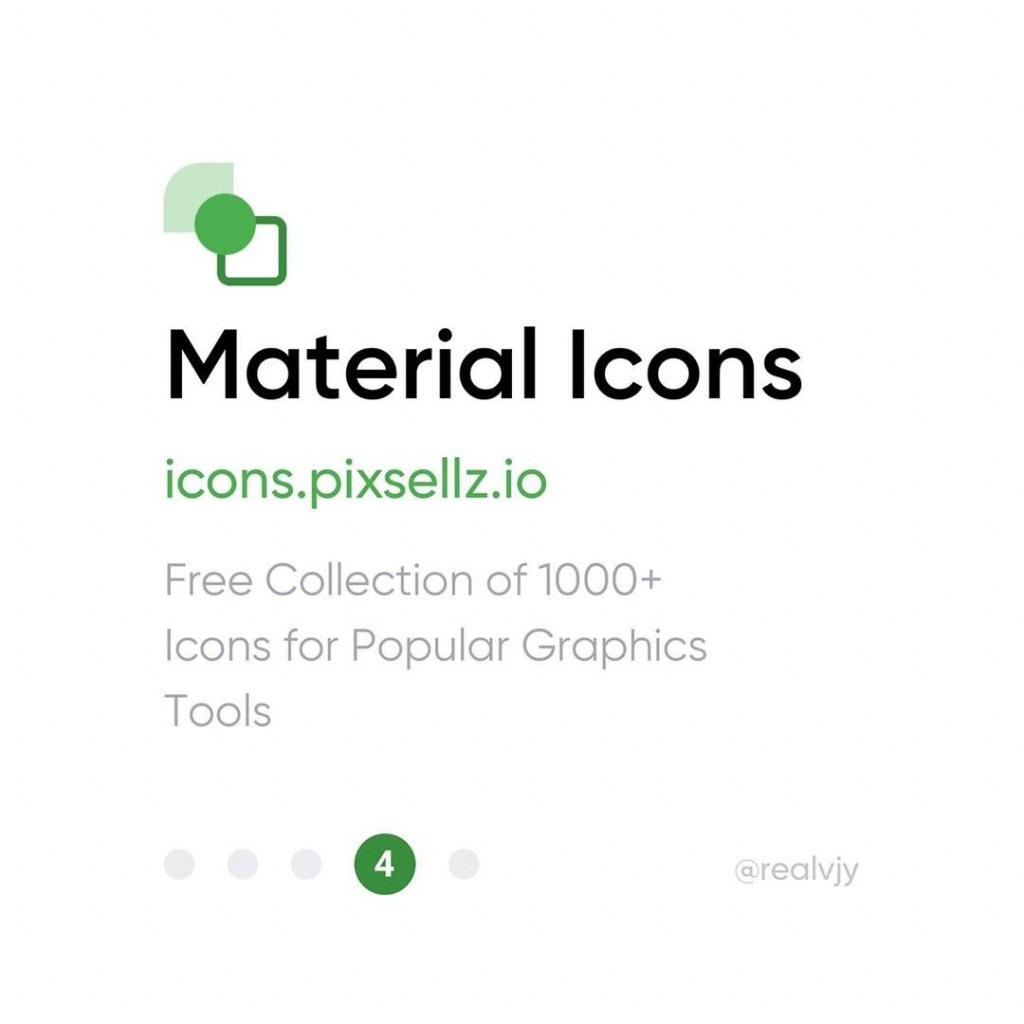 4. Material icons by Pixsellz  icons.pixsellz.io  Free Collection of 1000+ Icons for Popular Graphics Tools.