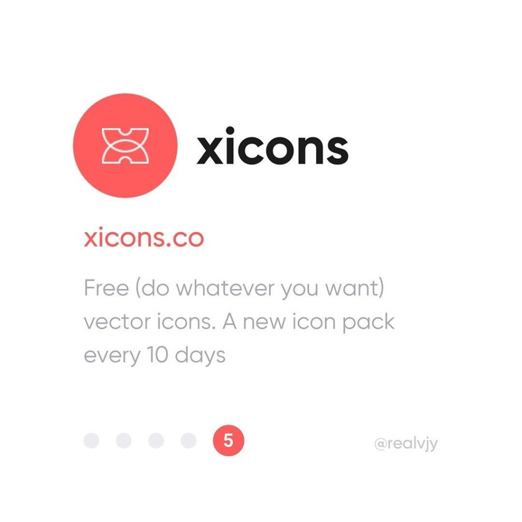 xicons  xicons.co  Free (do whatever you want) vector icons. A new icon pack every 10 days.