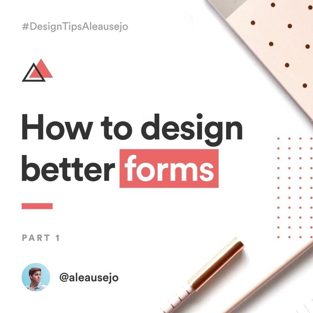 How to design better forms. Part 1