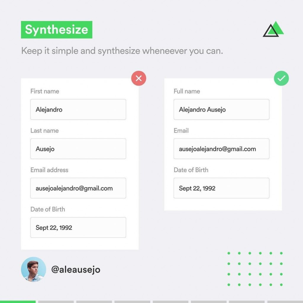 Synthesize  Keep it simple and synthesize whenever you can.