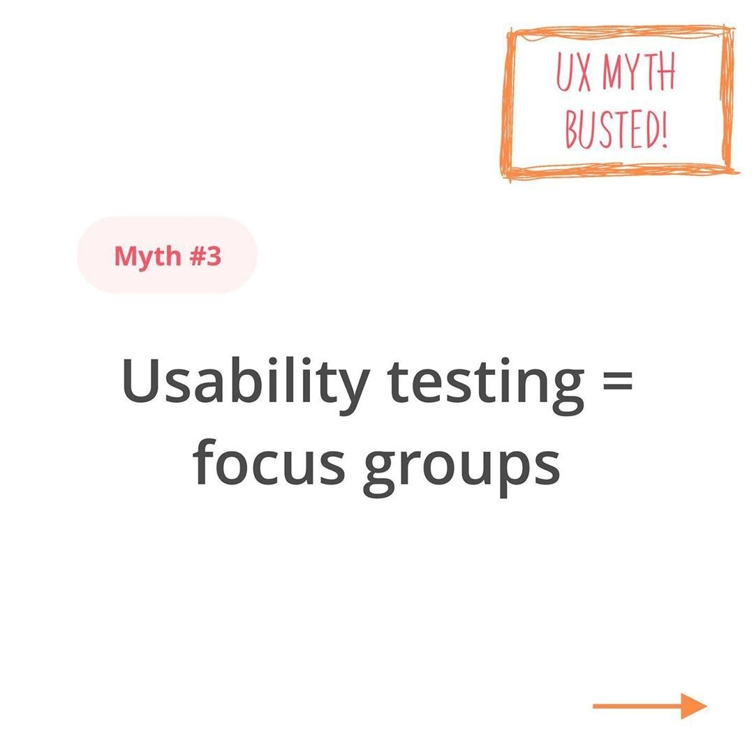 UX Myth Busted. Part 3