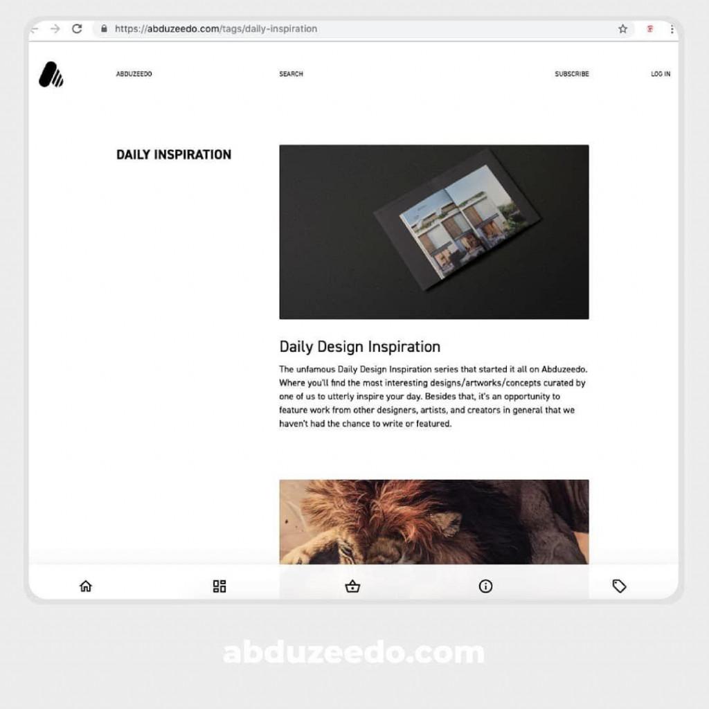 abduzeedo.com/tags/daily-inspiration