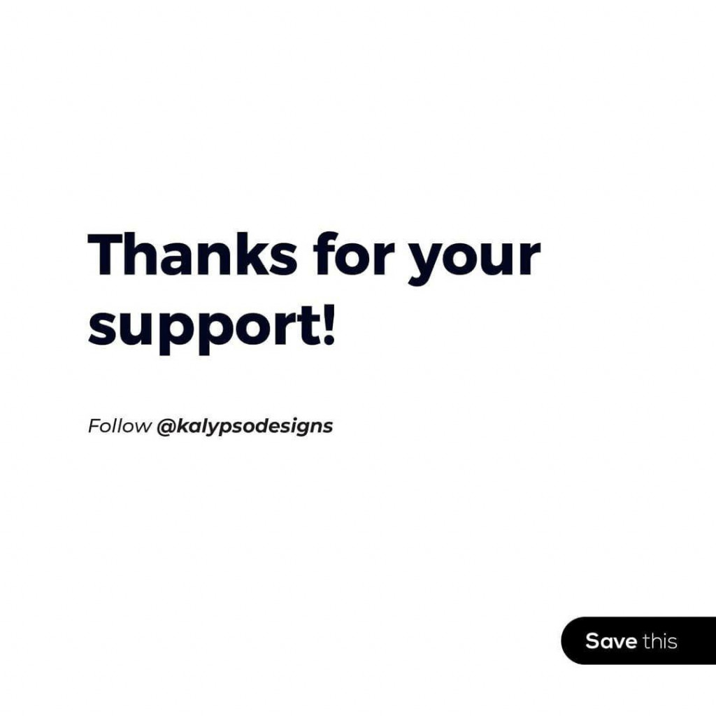 Thanks for your support!