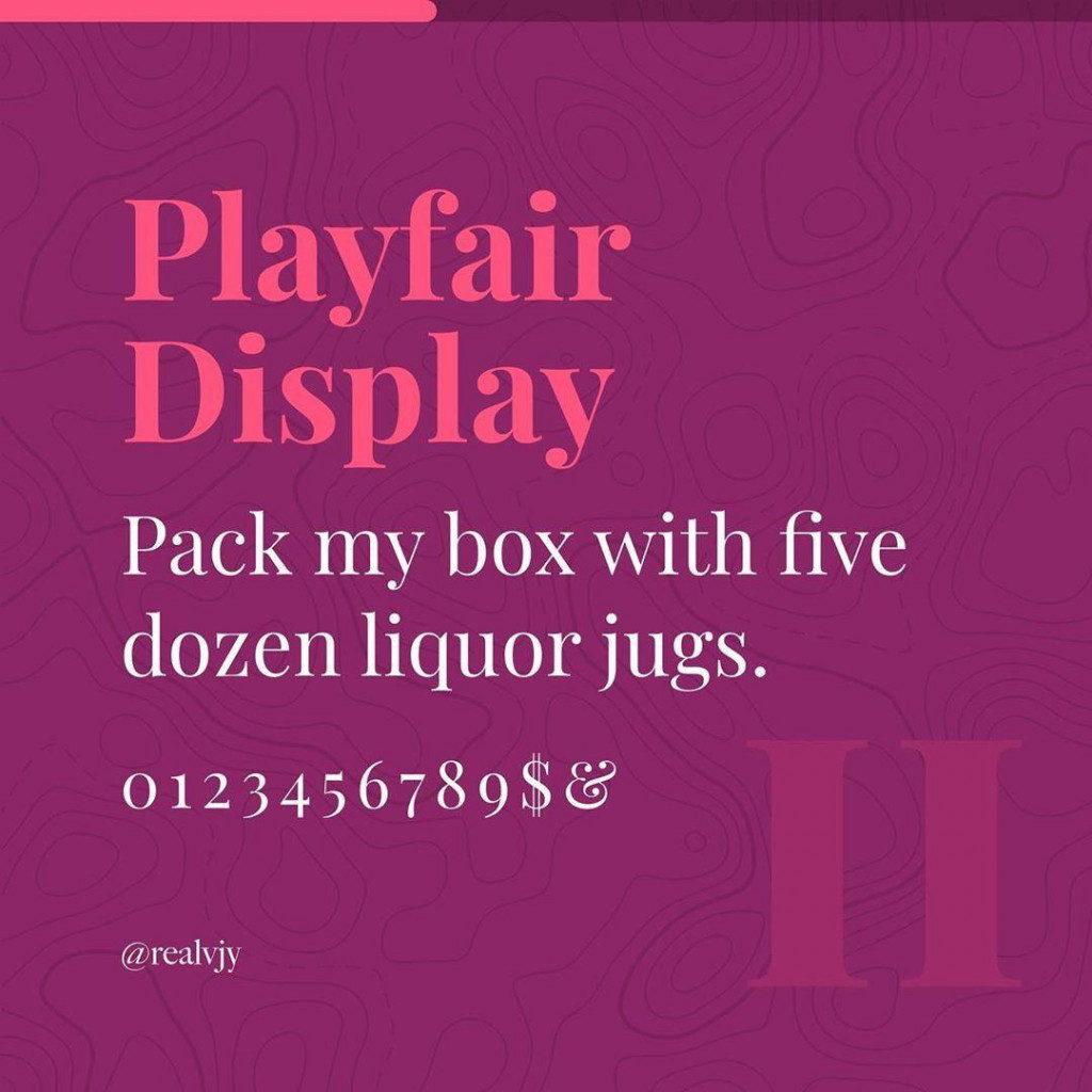 Playfair Display
