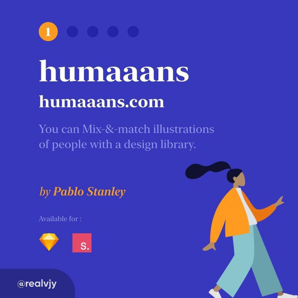 Humaaans  Humaaans.com You can Mix-&-match illustrations of people with a design library. by pablo stanley