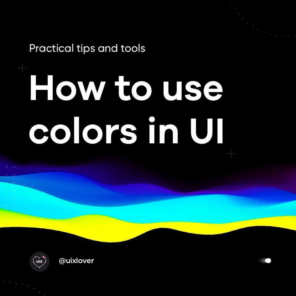How to use colors in UI