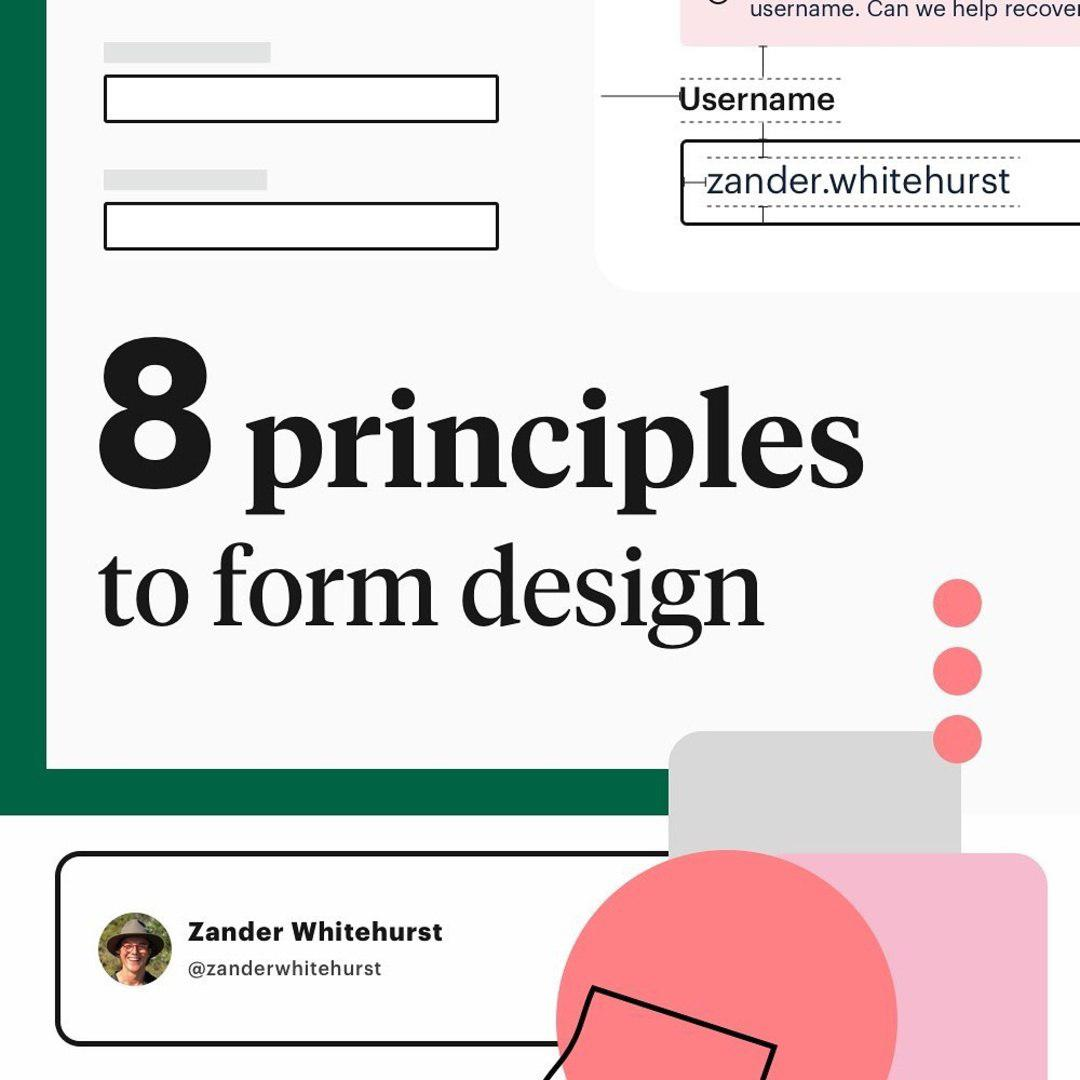 8 principles to form design ⁣