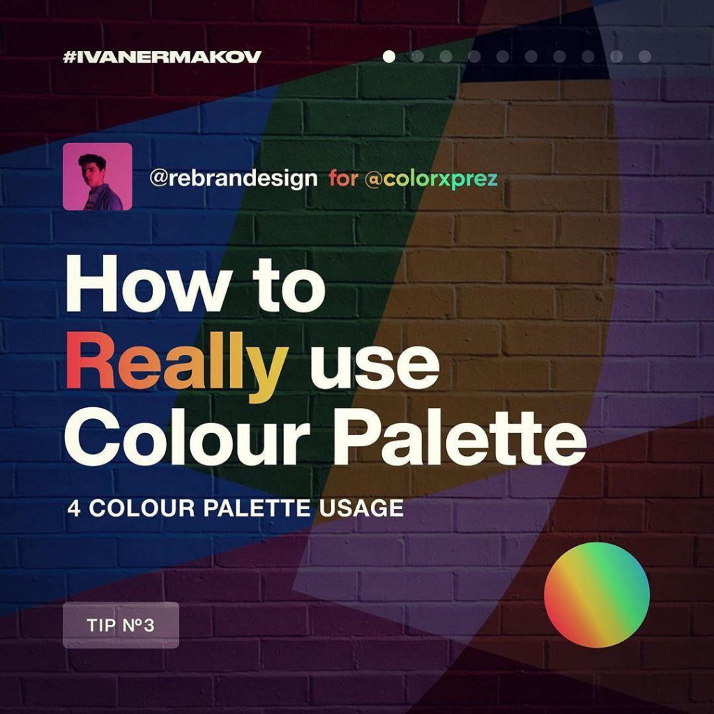 How to Really use Colour Palette