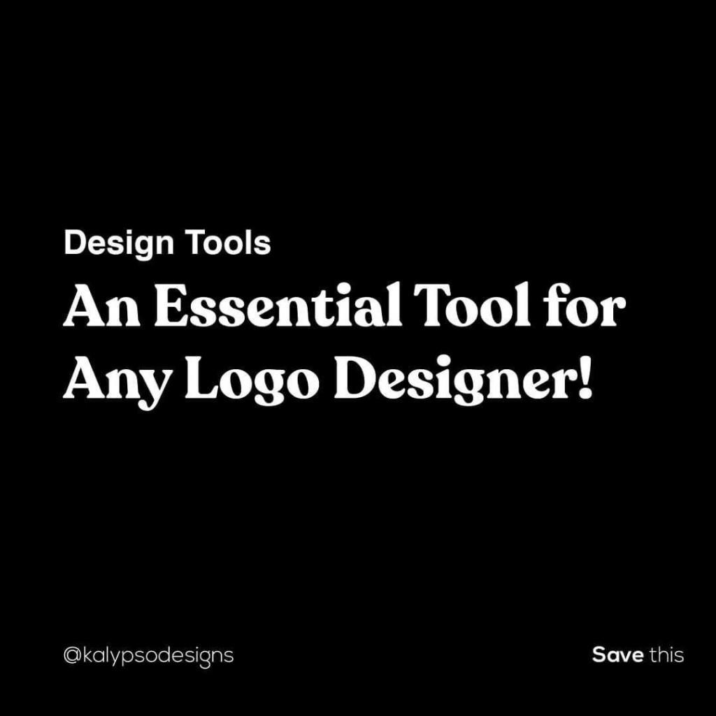 Design Tools An Essential tool for logo Designers