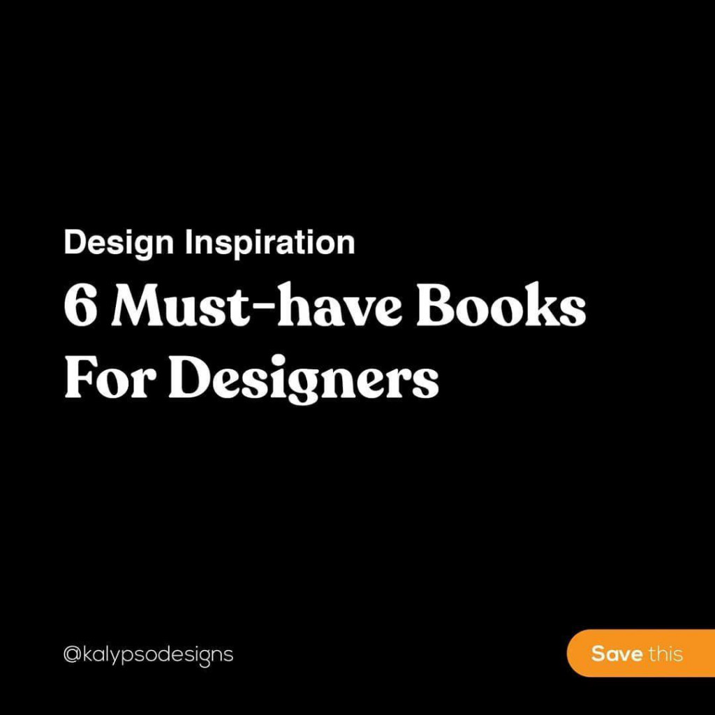Design Inspiration 6 Must-Have Books For Designers