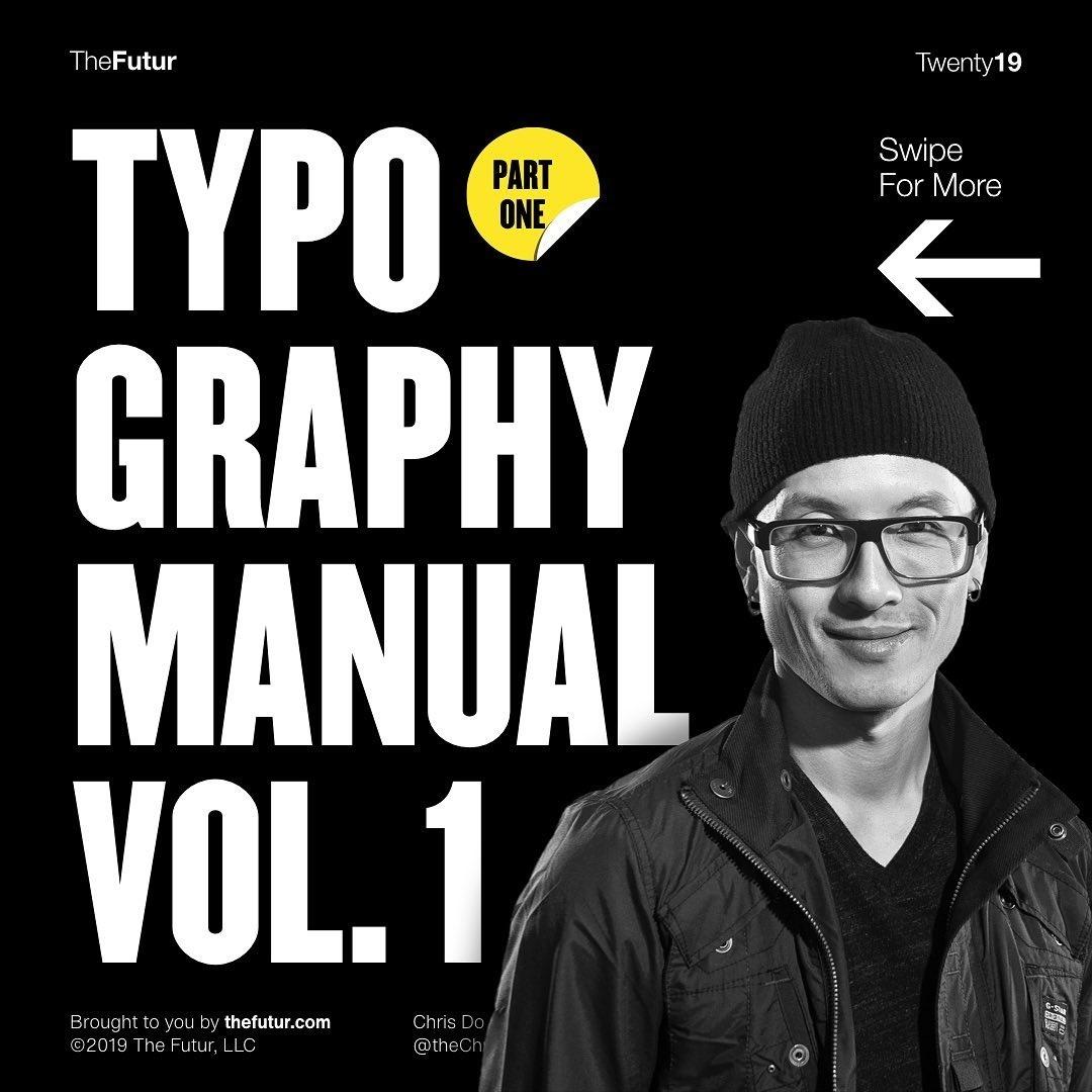 Typography Manual vol. 1