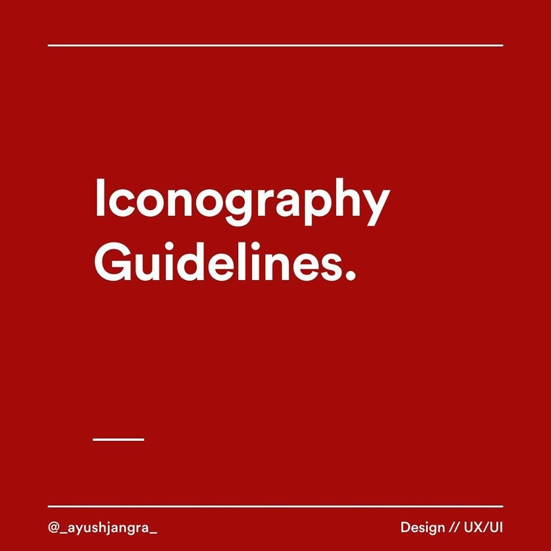 Iconography Guidelines