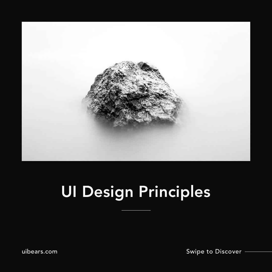 UI Design Principles