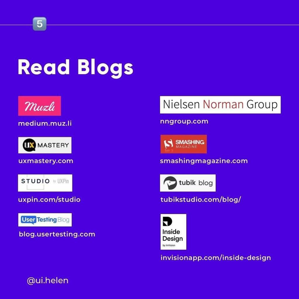 Read Blogs
