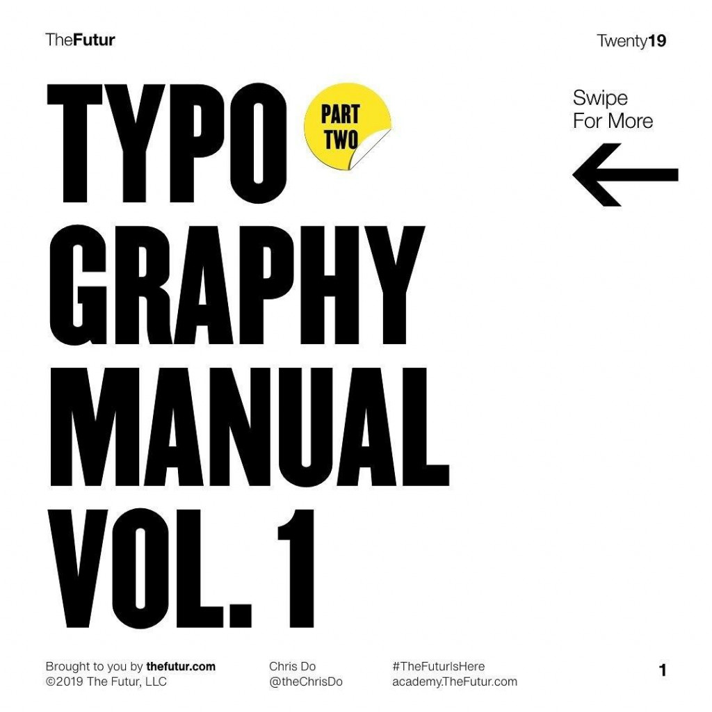 Typography Manual Part 2