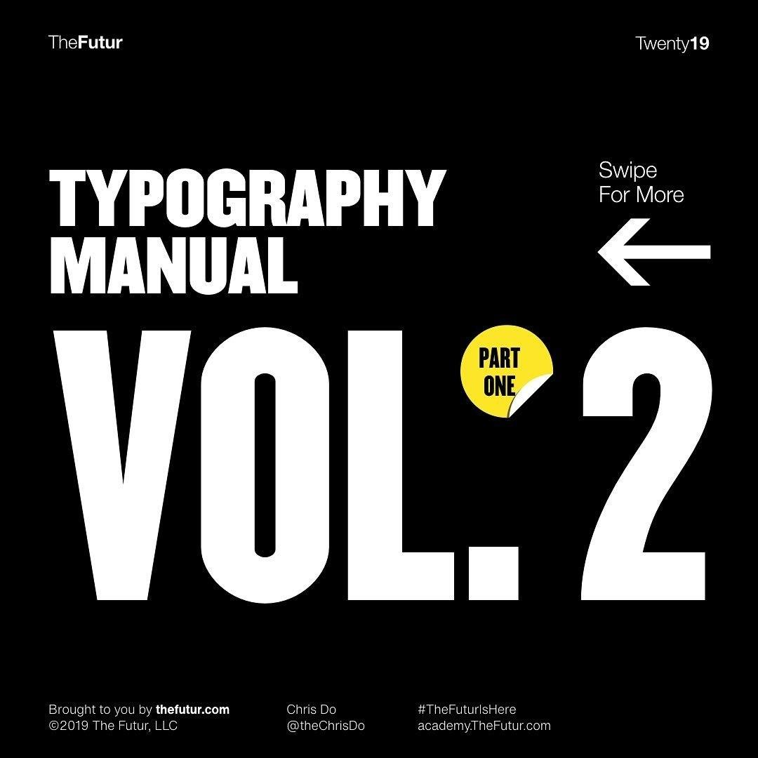Typography Manual Vol. 2